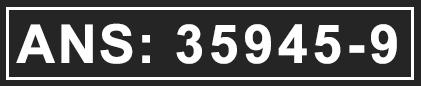 ANS: 35945-9